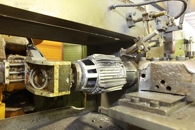 pressofusione alluminio motori elettrici